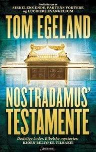 boganmeldelse tom egeland nostradamus testamente