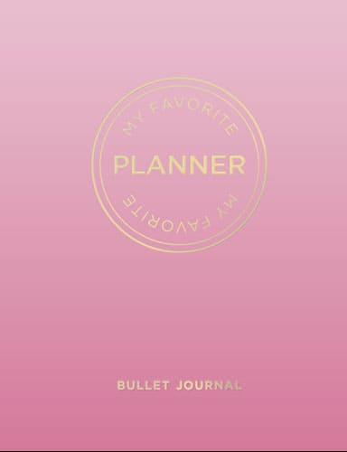 Bullet Journal - My favorit planner