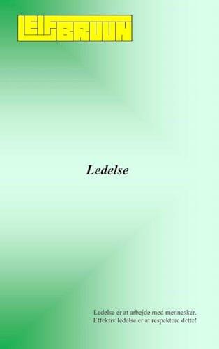 Leif bruun - Ledelse