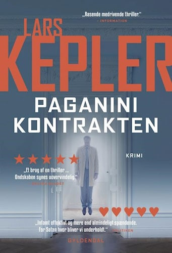 Lars Kepler - Paganinikontrakten