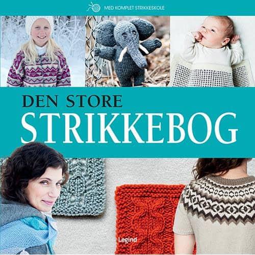 Lilly Secilie Brandal & Bente Myhrer - Den store strikkebog