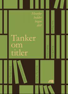 Jonas Knudsen - Tanker om titler